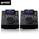 Dual Plattenspieler Player LCD Gemini mdj-500Professionelle USB MP3Media Player Modus Midi
