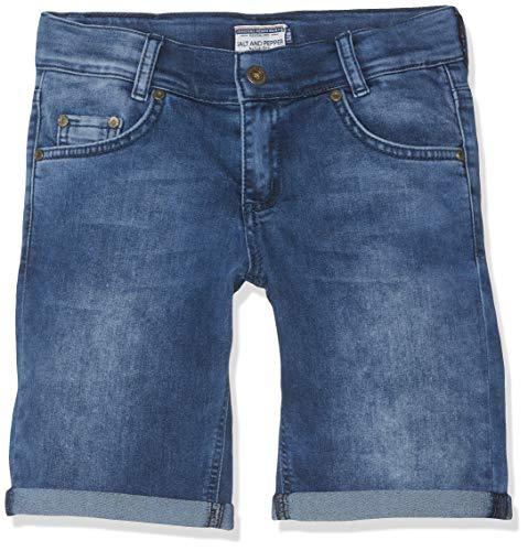 SALT AND PEPPER Jungen Short Boys Jeans, Blau (Original 099), 122 (Kid Shorts Boys)