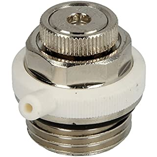 Tacovent 240.5420.000 Automatic Radiator Bleed Valve 1/2 inch, Self-sealing