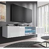 Muebles Bonitos – Mueble TV modelo Tibi (160 cm) en color blanco