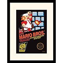 Mehrfarbig Unbekannt Super Mario Poster Charaktere Holz 61 x 91.5cm