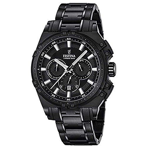 Festina F16969_1 - Reloj Analógico Para Hombre, color Negro/Negro