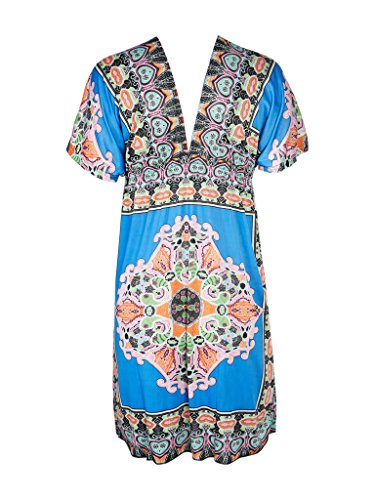 Blooming Jelly - Robe - Femme X-Large Bleu