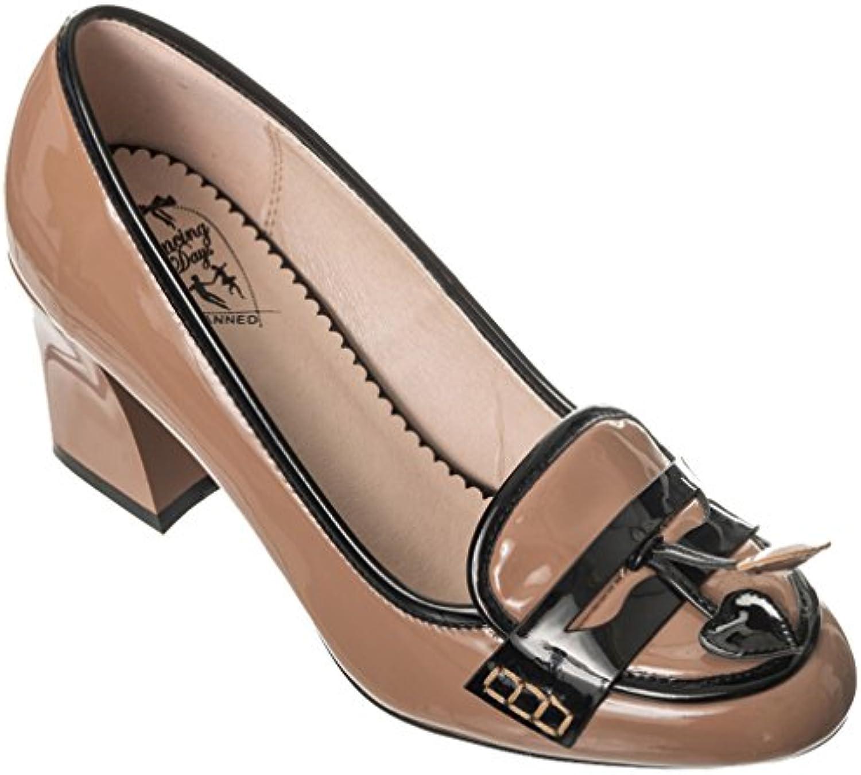 Banned - Zapatos de vestir de Material Sintético para mujer marrón marrón One Size