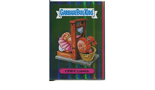 Garbage Pail Kids Chrome Series 1 Base Card 37b CINDY LOPPER