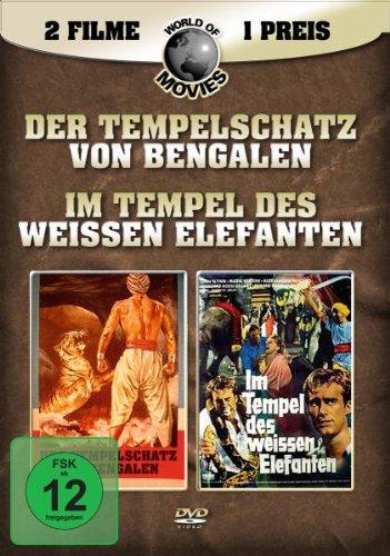 Bild von Der Tempelschatz von Bengalen / Im Tempel des weissen Elephanten (2 DVDs)