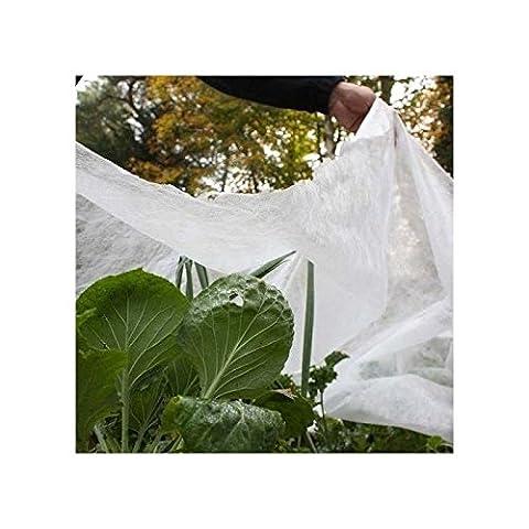 6m x 1m Pflanze Schutz Fleece Jacket Multi Season Winter Cover Garten Frost. (Heavy Duty Machete)