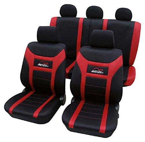 Cars-Design Super Speed rot 1203 Schonbezug Sitzbezug Autoschonbezug Schonbezüge für das unten angegebene Fahrzeug