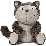 NICI - Lazy, gato de peluche, 15 cm, color gris (39022)