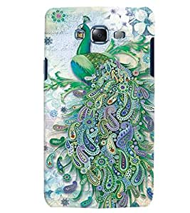 Citydreamz Peacock Feathers/Birds Hard Polycarbonate Designer Back Case Cover For Samsung Galaxy A3