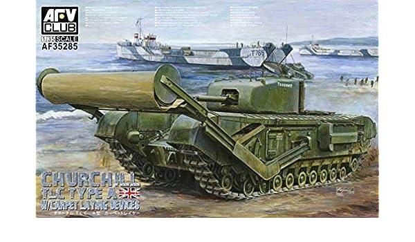 /Model Kit Churchill Mk IV W Carpet layerT YPE Btwi AFV Club DH96010/