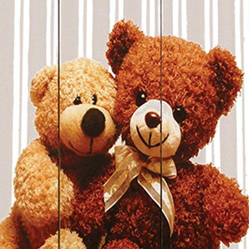 Preisvergleich Produktbild Paravent 'doppelseitig mit Bären