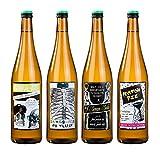 Talking Tables SKEL-LABELS Skeleton Crew Lot de 8 Etiquettes de boissons Carton Papier Multicolore 0,5 x 0,02 x 10 cm