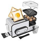 Toaster 2 Scheiben Toaster Home automatische Frühstücksmaschine Spit Treiber