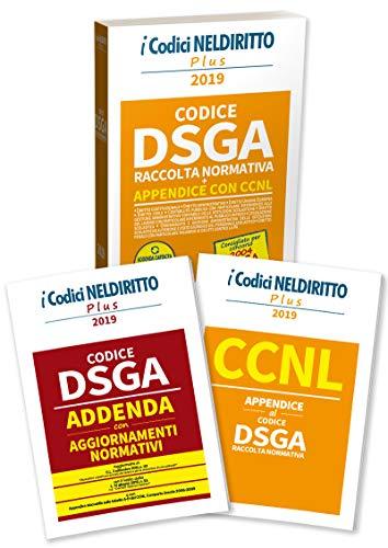 dsga. raccolta normativa. concorso 2004 dsga. con fascicolo: ccnl. appendice al codice dsga