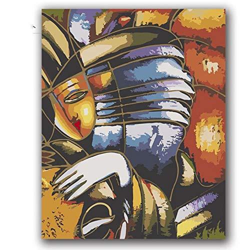 akeansa Diamant Malerei Kit 5D Picassos Gemälde Abstrakte Musik Bilder Kits Hotel Room Decor DIY 30x40 cm -
