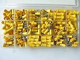 SK-DV 300 Kabelschuhe Sortiment gelb für Kabel mit 4 mm² - 6 mm² SK