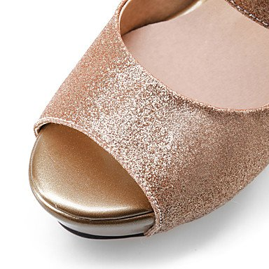 LFNLYX Donna Sandali Primavera Estate Autunno altri PU Ufficio Outdoor & Carriera Casual Stiletto Heel altri Silver Gold Altri Silver