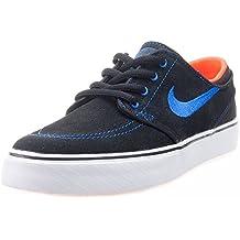 Nike Black / Rcr Blue-Ttl Crmsn-White, Zapatillas de Skateboarding para Niños