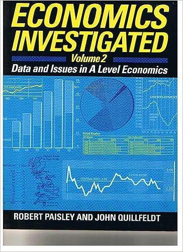 Book Economics Investigated: v. 2: Data and Issues in Advanced Level Economics