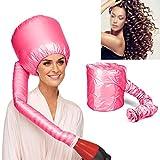 Takestop® - Bonnet thermique, casque portable tendance pour sèche-cheveux, fixation universelle, sèche-cheveux professionnel