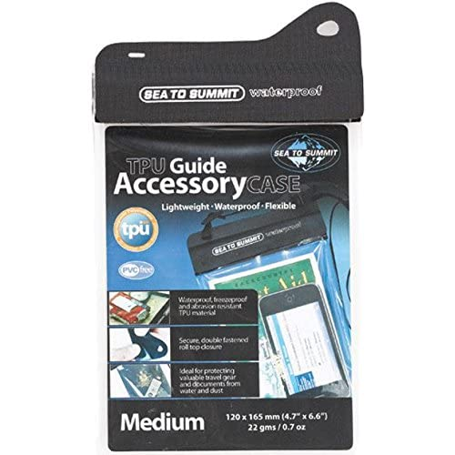 Sea To Summit TPU Guide Waterproof Case for Mini Tablet – Black/Clear