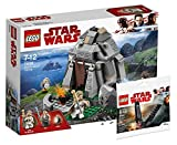 LEGO Star Wars 75200 - Ahch-To Island Training + Lego Star Wars 30380 - Kylo Ren´s Shuttle Polybag, Spielzeug