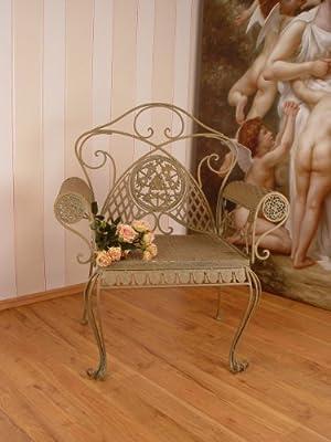 Eisen Sessel Modell Jugendstil