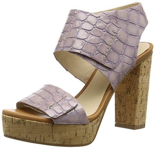 Zinda 2090, Sandales Plateau femme Violet - Violett (Malva)