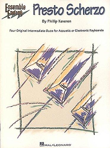 Presto Scherzo: Book Only Two Pianos, 4 Hands