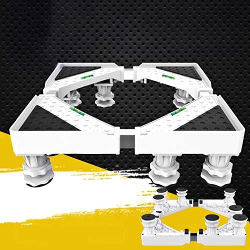 MSLYDYG Multi Functional bewegliche Basis, 4 Starke Füße Protable Waschmaschine Multi Functional Mobile Base, für Trockner Waschmaschine und Kühlschrank