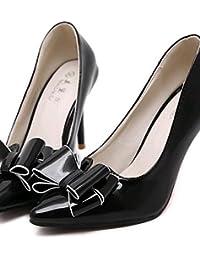ggx cuero sintético zapatos de mujer primavera verano otoño talones señaló  Toe a49dc70113ff