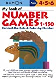 My Book Of Number Games 1-150 (Kumon Workbooks)