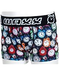 WAXX de costura para ropa interior corta motivos geométricos de pom graphic Boy's Boxer de encendido y