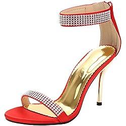 SEXYHER Art und Weise 2.8IN Absatz-B¨¹ro der Sandelholz-Schuhe der Frauen