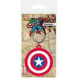 Third Party Marvel Comics porte-clés Captain America Shield