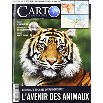 Carto N 54 l'Avenir des Animaux - Juillet/Aout 2019