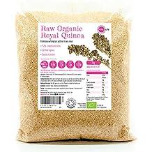 PINK SUN Quinua Real Blanca Orgánica 3kg Semillas de Quinoa Bio a Granel Sin Gluten -