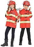 Kit de bombero infantil bomberos uniformes niños niñas niños disfraz