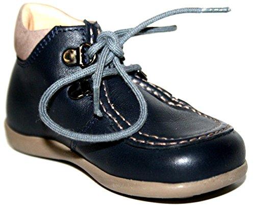 Cherie Kinder Baby Schuhe Jungen Stiefeletten 0163, (ohne Karton) Blau