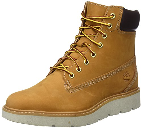 Timberland Damen Kenniston 6 Inch Lace Up Stiefel, Gelb (Wheat Nubuck), 36 EU