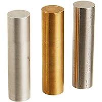 United Scientific SGVC04 - Juego de cilindros metálicos de igual volumen