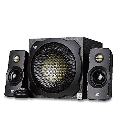 Woxter Big Bass 260 - Altavoces multimedia 2.1 (6.5', 150 W, 90-20000 Hz), color negro