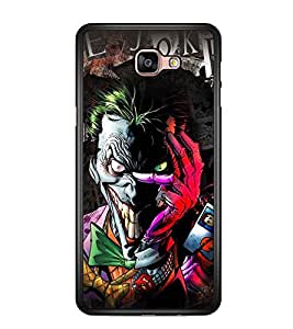 Printvisa Multicoloured Smiling Monster Back Case Cover for Samsung Galaxy A9 (2016)::Samsung Galaxy A9 (2016) Duos with dual-SIM card slots
