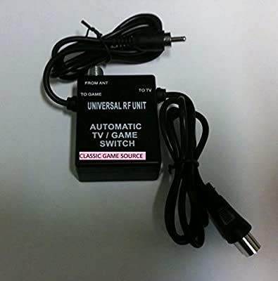 Atari Jaguar 64 BIT Rf Rfu Automatic Cable Tv Switch Made By Classic Game Source by Classic Game Source by Classic Game Source INC.