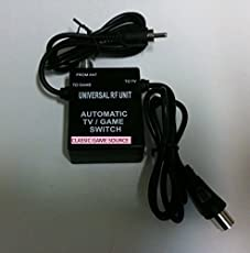 NES 8 BIT Nintendo Rf Rfu Automatic Cable Tv Switch Made By Classic Game Source by Classic Game Source