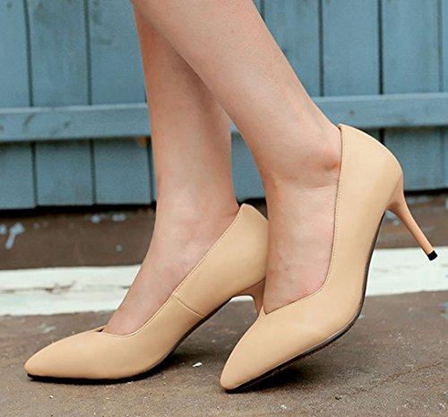 XTIAN - Scarpe con Tacco Donna color carne