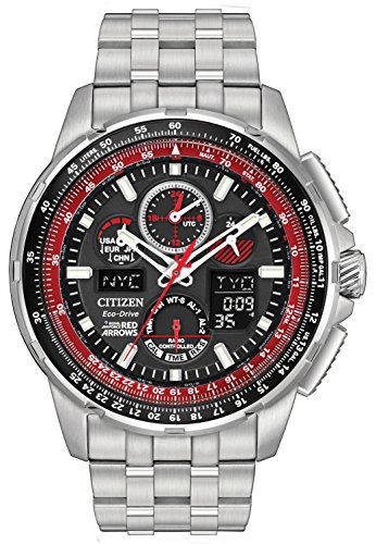 Citizen Watch Men's Analogue Solar Powered Stainless Steel Strap JY8059-57E
