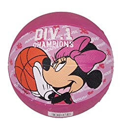 DISNEY MINNIE RUBBER BASKETBALL