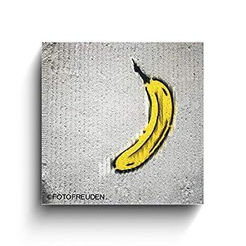 Banane Graffiti – Köln Bilder – Foto auf Holz – Handmade – verschiedene Größen